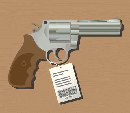 selling your handgun with pricetag